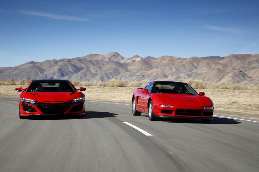 VIDEO: Honda NSX celebrates its 30th anniversary Image #920116