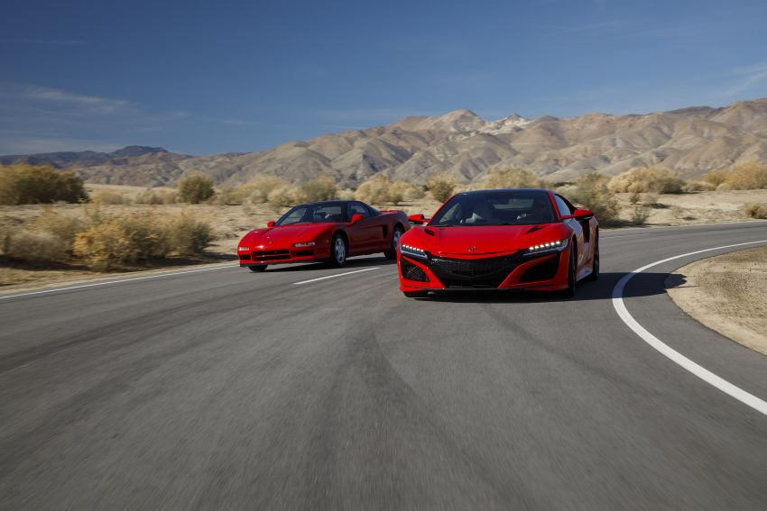 VIDEO: Honda NSX celebrates its 30th anniversary Image #920119