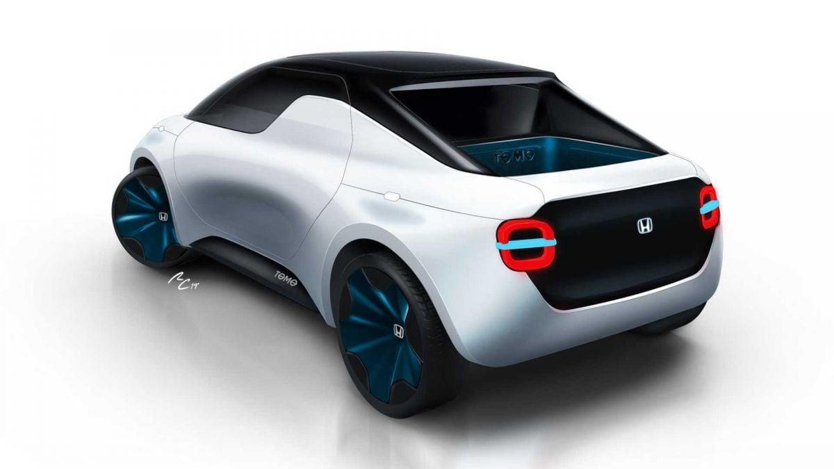 Honda Urban Ev >> Honda Tomo Concept - coupe-pick-up EV for Geneva