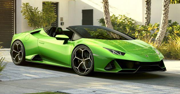 Lamborghini Huracan Evo Spyder Debuts With 640 Ps
