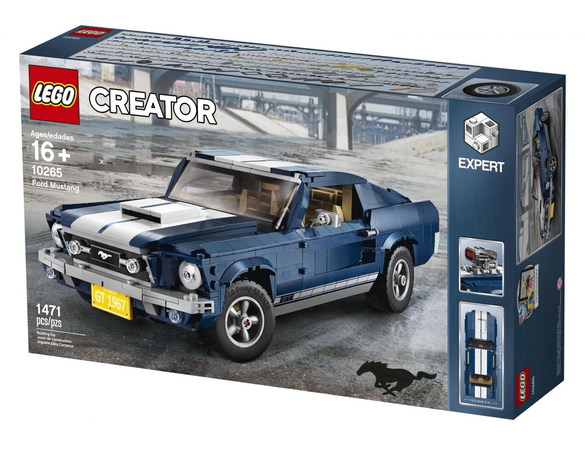 new lego creator expert set 1967 ford mustang paul tan. Black Bedroom Furniture Sets. Home Design Ideas