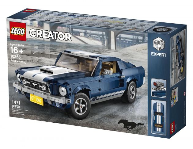new lego creator expert set 1967 ford mustang. Black Bedroom Furniture Sets. Home Design Ideas