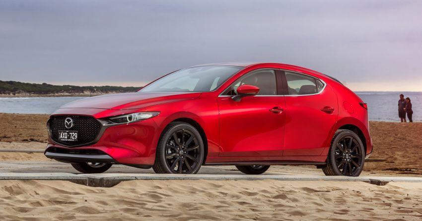 2019 Mazda 3 goes upmarket in Australia – fr RM72k Image #924793
