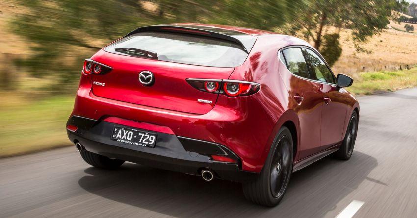 2019 Mazda 3 goes upmarket in Australia – fr RM72k Image #924802