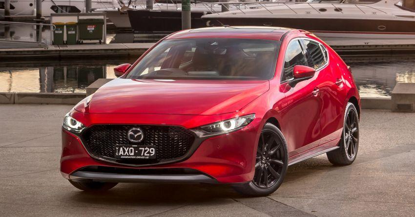 2019 Mazda 3 goes upmarket in Australia – fr RM72k Image #924803