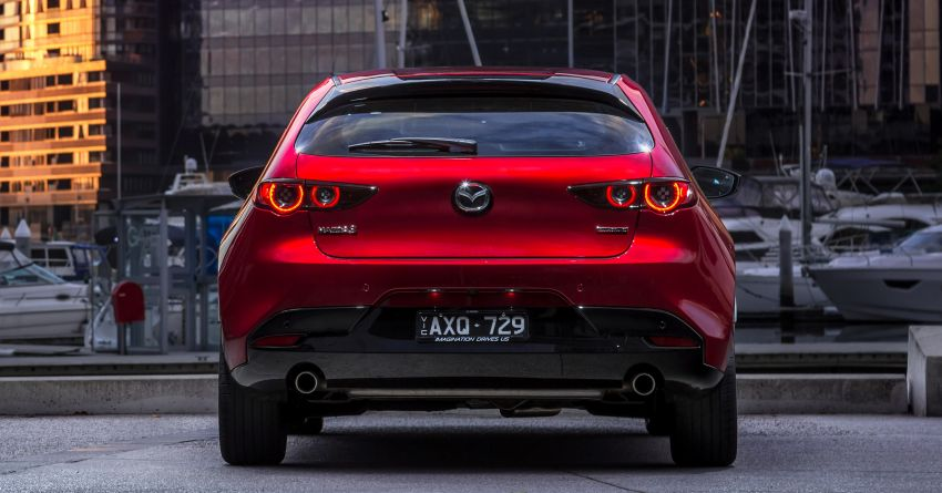 2019 Mazda 3 goes upmarket in Australia – fr RM72k Image #924804