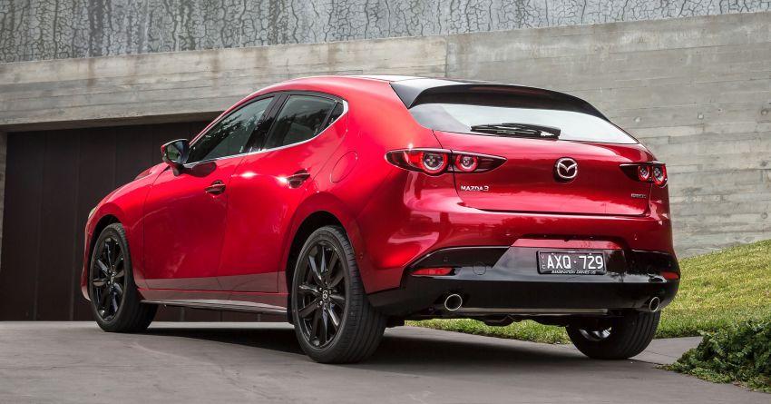 2019 Mazda 3 goes upmarket in Australia – fr RM72k Image #924794