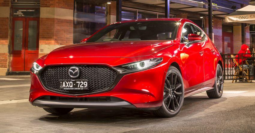 2019 Mazda 3 goes upmarket in Australia – fr RM72k Image #924812