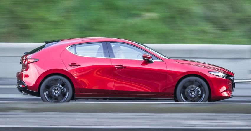 2019 Mazda 3 goes upmarket in Australia – fr RM72k Image #924813