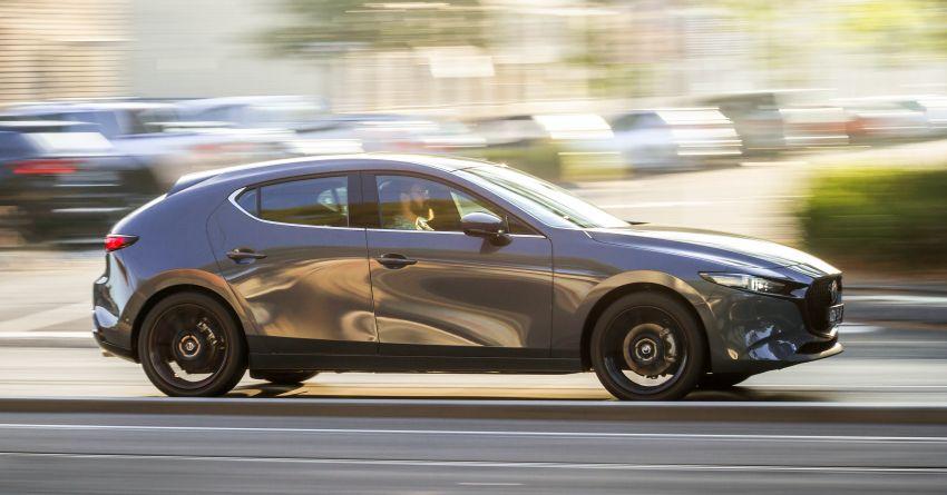 2019 Mazda 3 goes upmarket in Australia – fr RM72k Image #924816