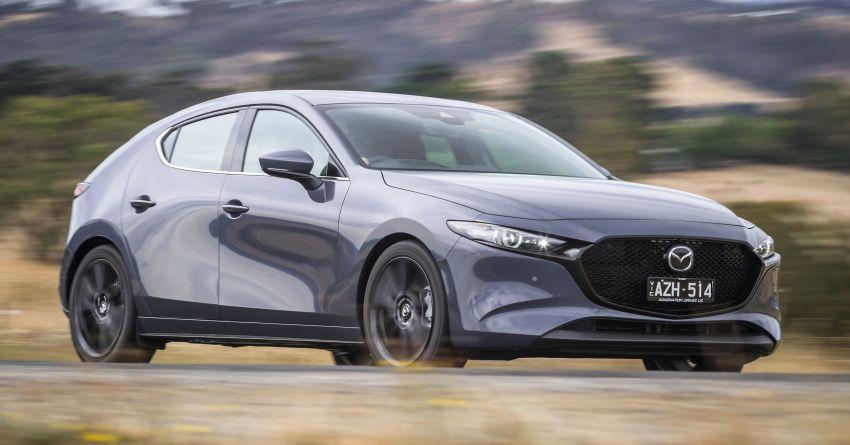 2019 Mazda 3 goes upmarket in Australia – fr RM72k Image #924819