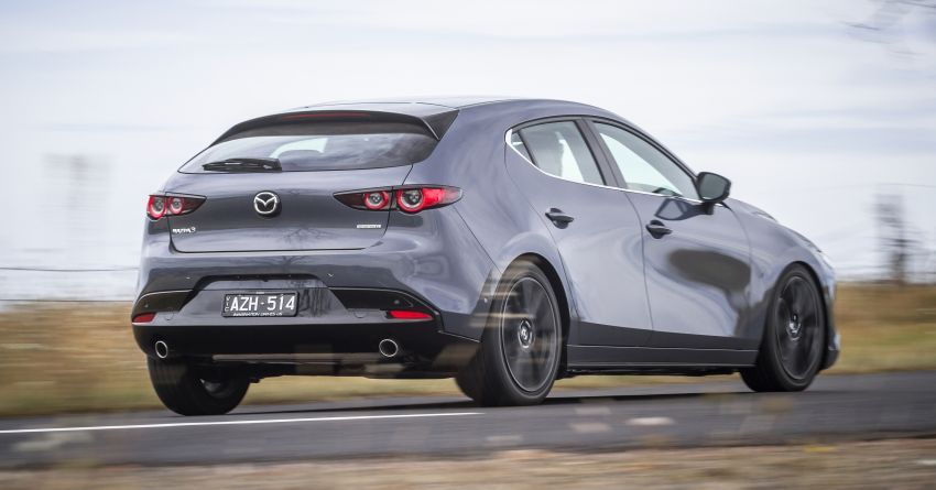 2019 Mazda 3 goes upmarket in Australia – fr RM72k Image #924820