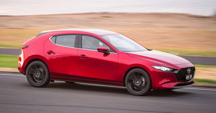 2019 Mazda 3 goes upmarket in Australia – fr RM72k Image #924795