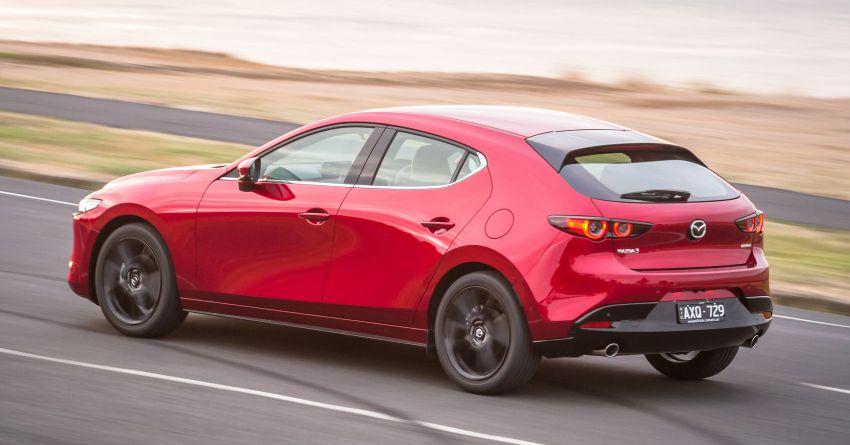 2019 Mazda 3 goes upmarket in Australia – fr RM72k Image #924796