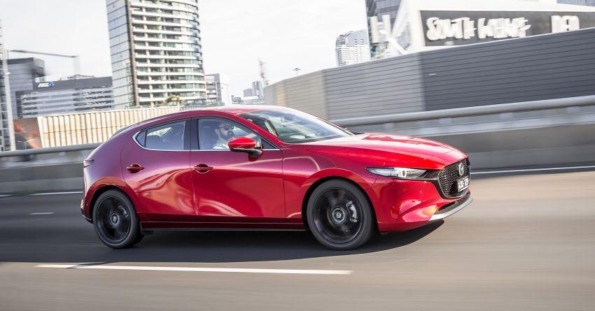 2019 Mazda 3 goes upmarket in Australia – fr RM72k Image #924797