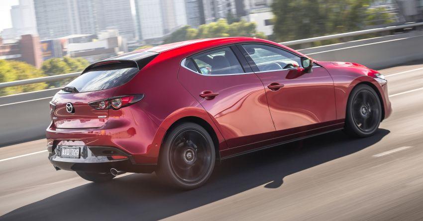2019 Mazda 3 goes upmarket in Australia – fr RM72k Image #924798
