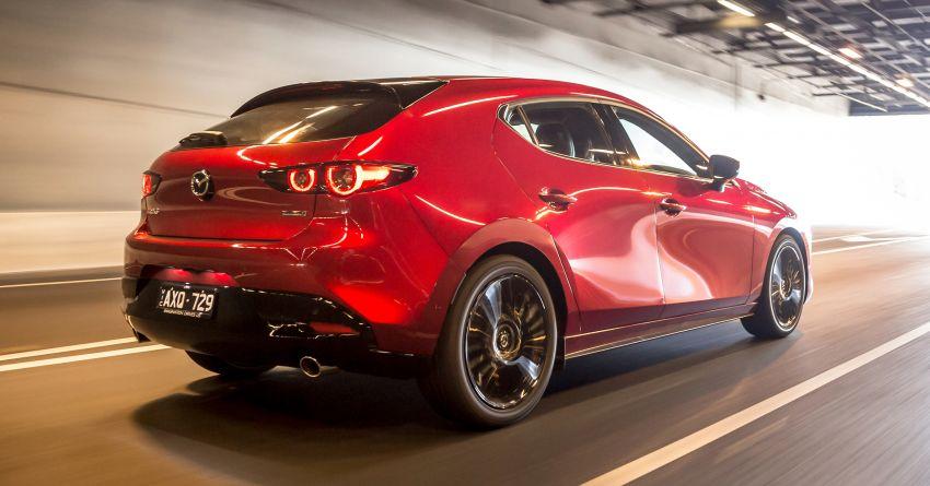 2019 Mazda 3 goes upmarket in Australia – fr RM72k Image #924799