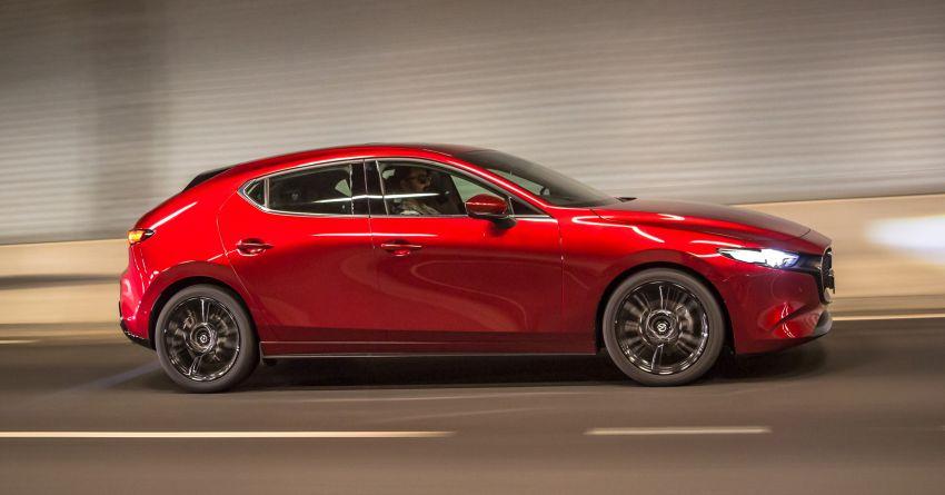 2019 Mazda 3 goes upmarket in Australia – fr RM72k Image #924800