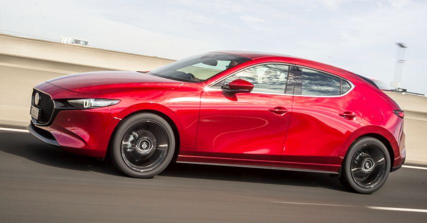 2019 Mazda 3 goes upmarket in Australia – fr RM72k Image #924801