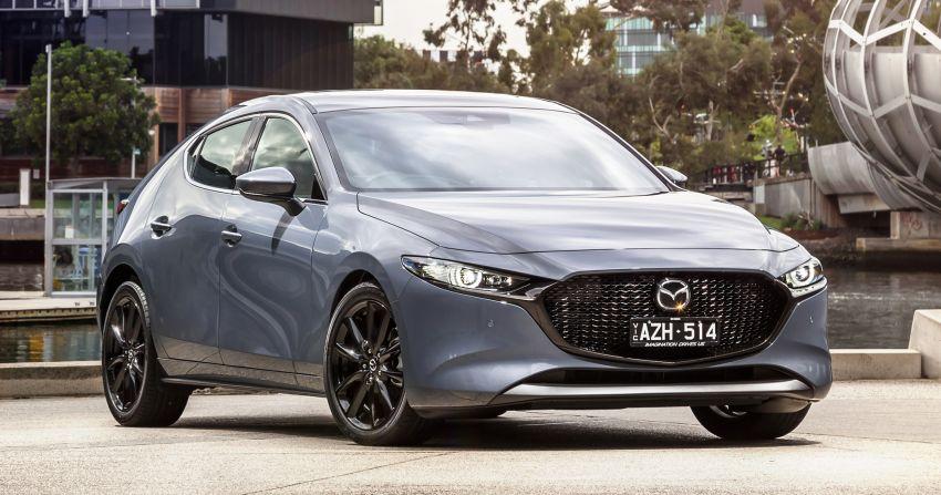 2019 Mazda 3 goes upmarket in Australia – fr RM72k Image #924740