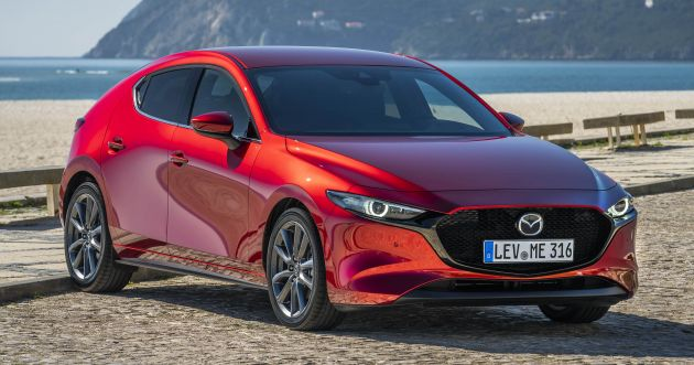 2019 mazda 3 2 0l skyactiv x details revealed 180 ps 224 nm 5 4 litres per 100 km standard. Black Bedroom Furniture Sets. Home Design Ideas