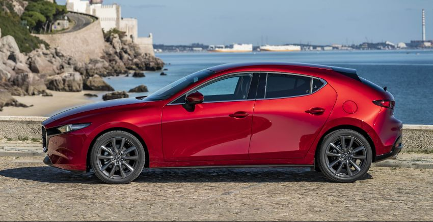 2019 Mazda 3 for Europe – specifications and gallery Image #923242