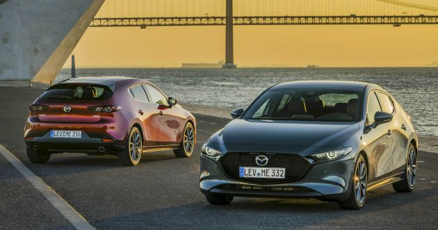 2019 Mazda 3 for Europe - specifications and gallery