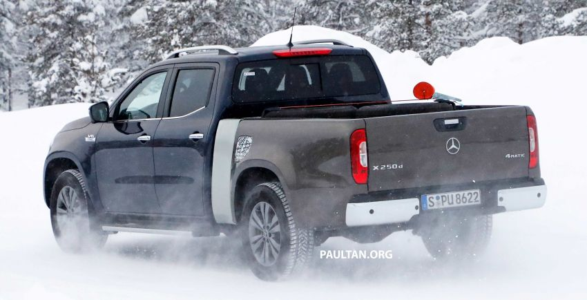 SPYSHOTS: Mercedes-Benz X-Class with longer tray Image #922362