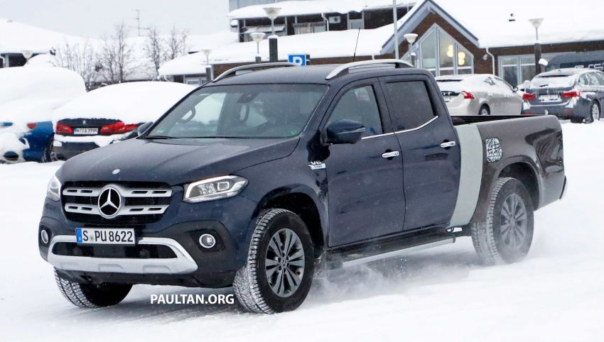 SPYSHOTS: Mercedes-Benz X-Class with longer tray Image #922355