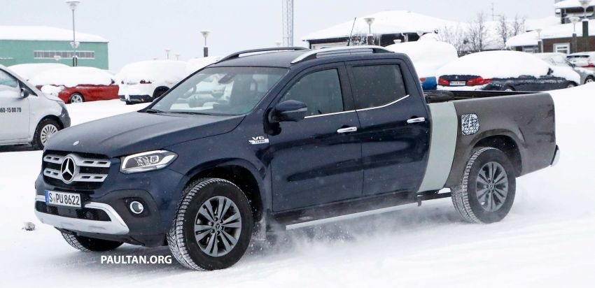 SPYSHOTS: Mercedes-Benz X-Class with longer tray Image #922356