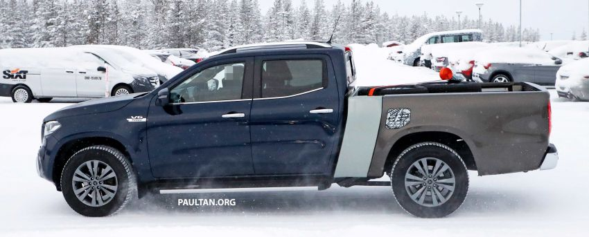 SPYSHOTS: Mercedes-Benz X-Class with longer tray Image #922359