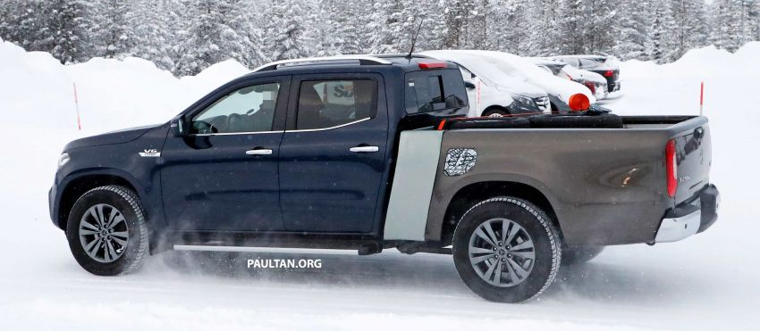 SPYSHOTS: Mercedes-Benz X-Class with longer tray Image #922360