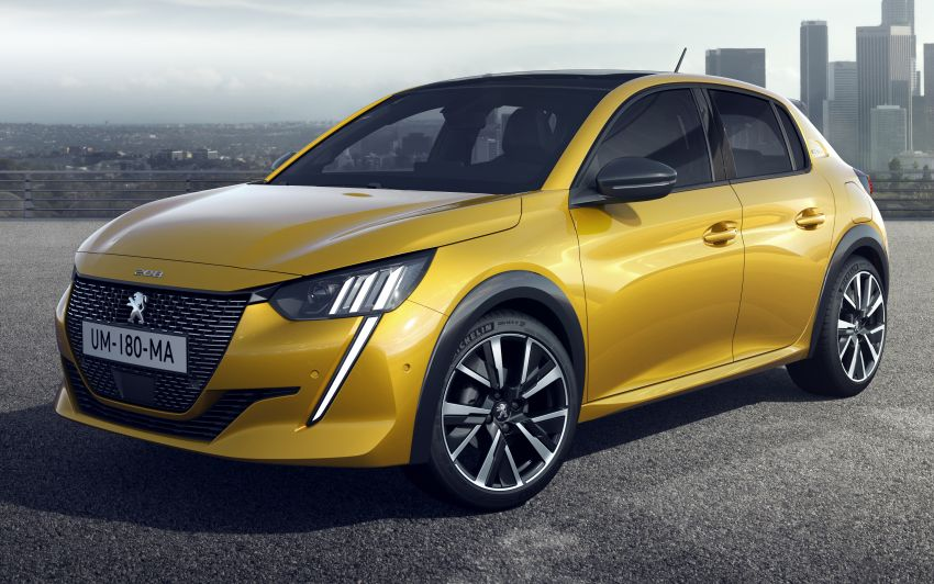 2019 Peugeot 208 unveiled with 340 km electric model Image #925573