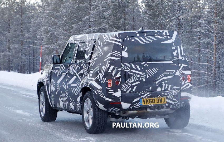 2019 Land Rover Defender interior mock-up revealed? Image #922400