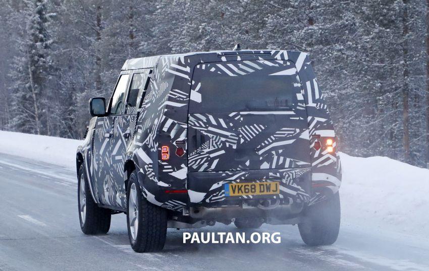 2019 Land Rover Defender interior mock-up revealed? Image #922401