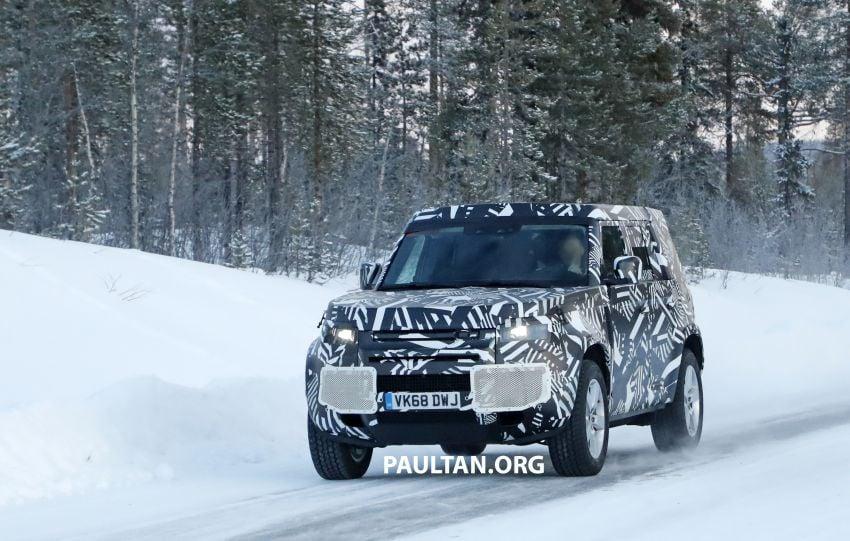 2019 Land Rover Defender interior mock-up revealed? Image #922402