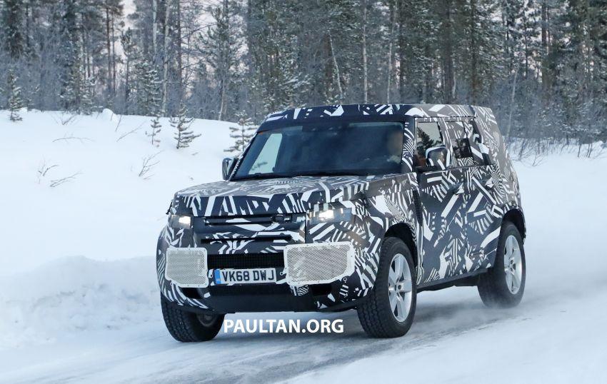 2019 Land Rover Defender interior mock-up revealed? Image #922403