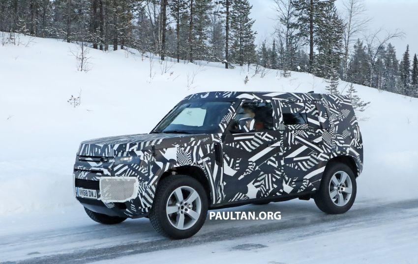 2019 Land Rover Defender interior mock-up revealed? Image #922405