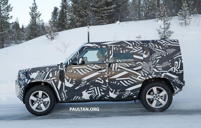 2019 Land Rover Defender interior mock-up revealed? Image #922407