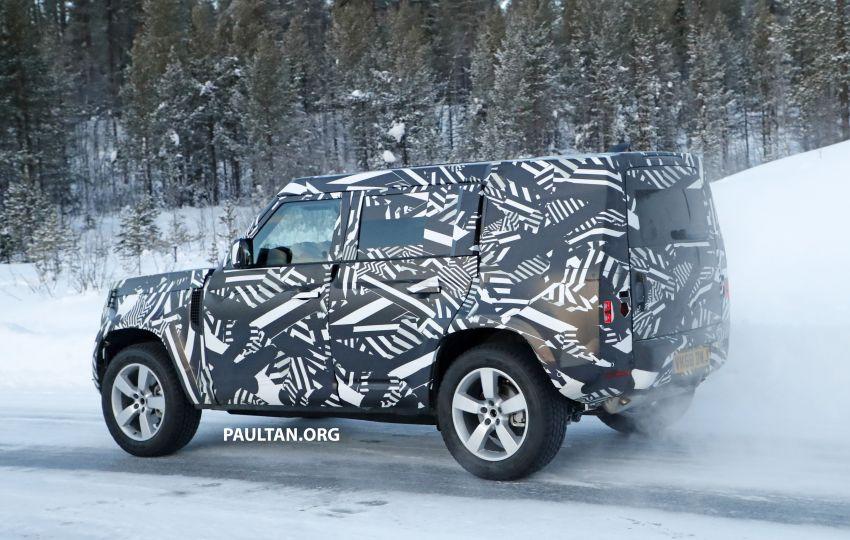 2019 Land Rover Defender interior mock-up revealed? Image #922408