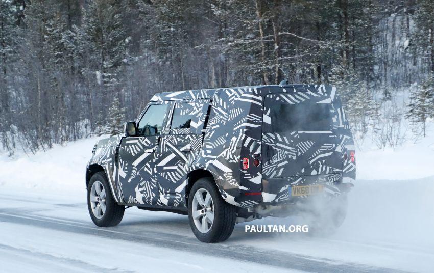 2019 Land Rover Defender interior mock-up revealed? Image #922409