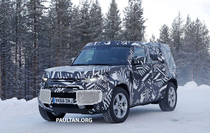 2019 Land Rover Defender interior mock-up revealed? Image #922393