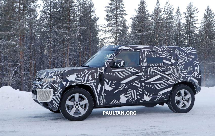2019 Land Rover Defender interior mock-up revealed? Image #922395