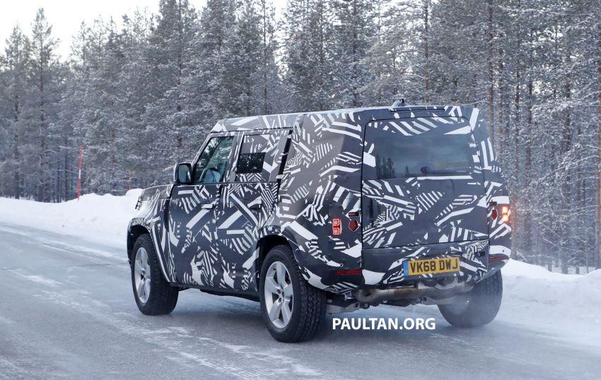 2019 Land Rover Defender interior mock-up revealed? Image #922399