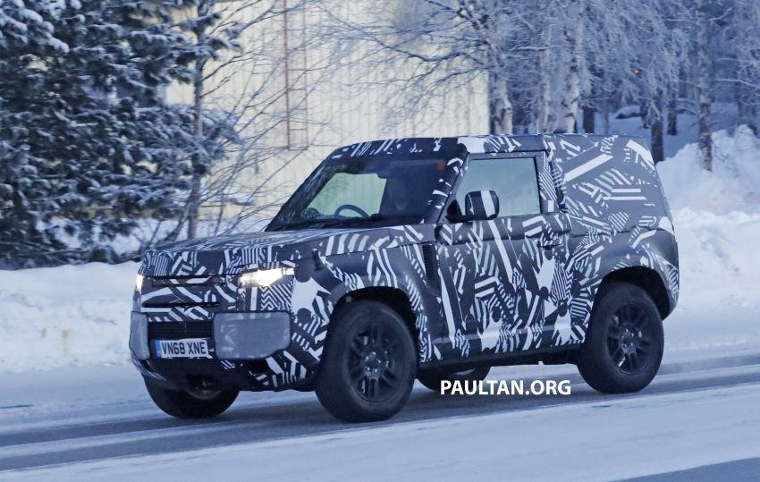 2019 Land Rover Defender interior mock-up revealed? Image #922411
