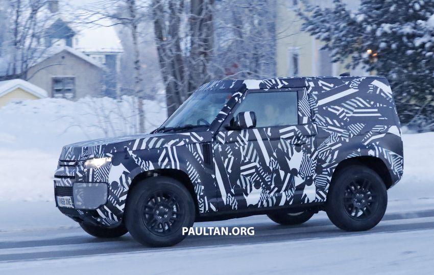2019 Land Rover Defender interior mock-up revealed? Image #922412