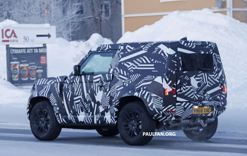 2019 Land Rover Defender interior mock-up revealed? Image #922417
