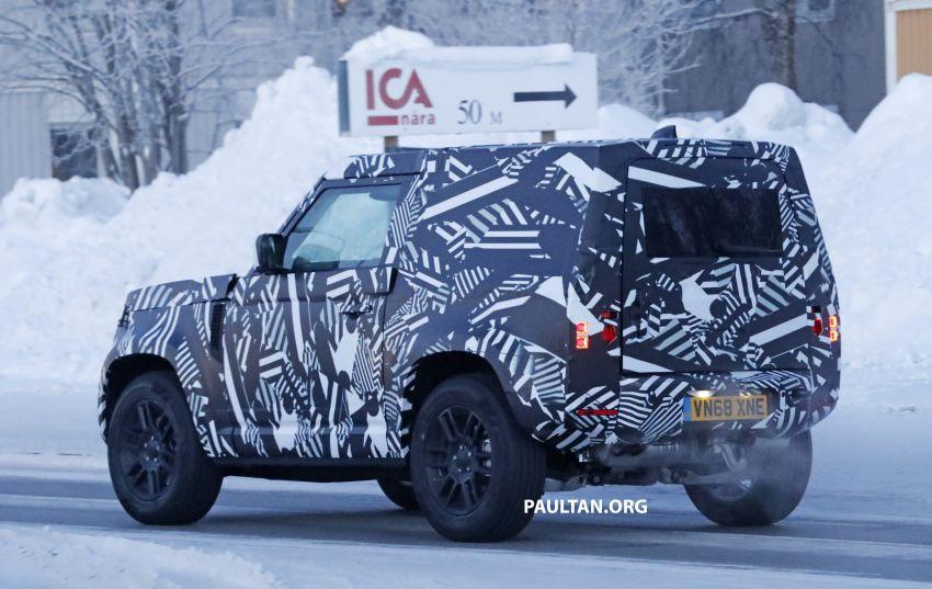 2019 Land Rover Defender interior mock-up revealed? Image #922418