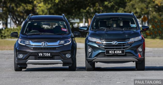 Perodua Aruz vs Honda BR-V: we compare the service costs of