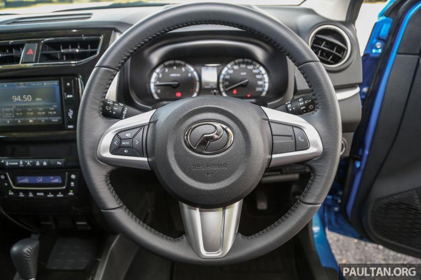 PANDU UJI: Perodua Aruz 1.5 Advance – benar-benar SUV atau sekadar kenderaan gaya hidup masa kini? Image #919674